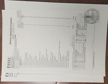 How to buy fake ESSEC Business School transcript, 购买ESSEC商学院成绩单