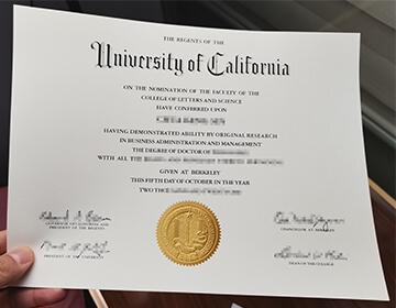 How long to buy fake UC Berkeley degree? 加州大学伯克利分校毕业证成绩单